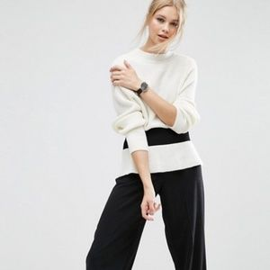 ASOS Sweater with Cinched Waist Detail